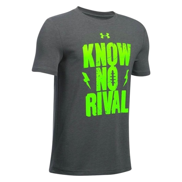 Under Armour Other - Under Armour Boy's 'Know No Rival' T-Shirt Sz S